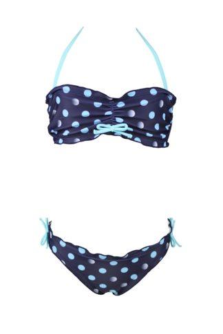 Dívčí dvoudílné plavky Jane modrá 116