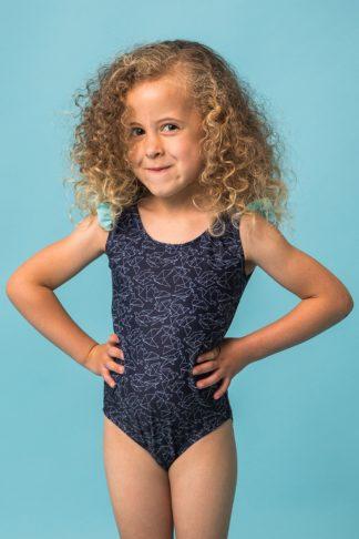 Dívčí jednodílné plavky Rosalie