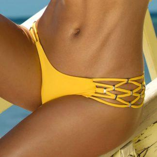 Spodní díl dámských plavek Sunny žlutá 42