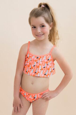 Dívčí dvoudílné plavky Summer